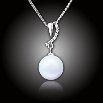Perlový náhrdelník Ocean White Pearl