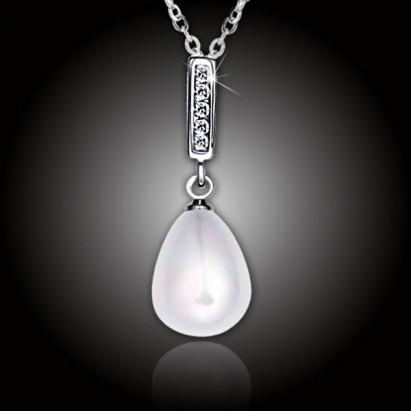 Perlový náhrdelník Giselle White Pearl