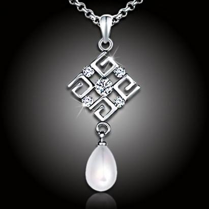 Perlový náhrdelník Feria White Pearl