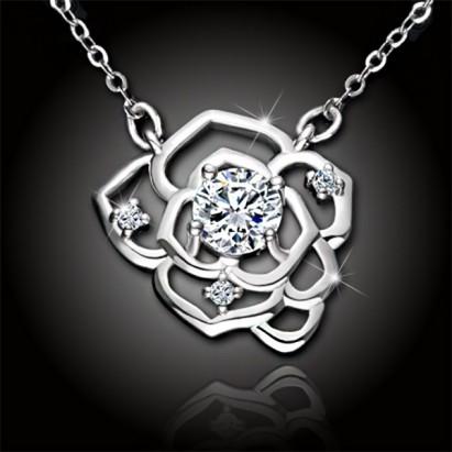 Náhrdelník Crystal Rose