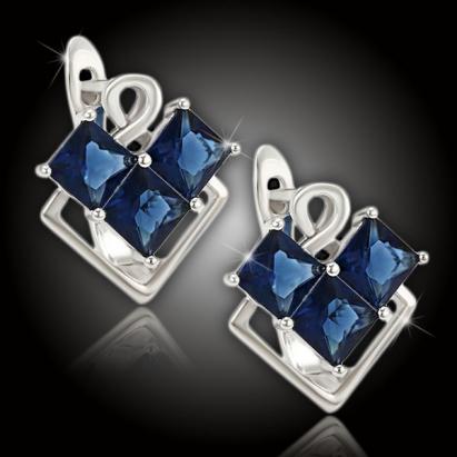 Náušnice Brillance Sierra Royal Blue